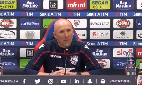 La conferenza stampa di Rolando Maran alla vigilia di Cagliari Inter, anticipo della 26 giornata: