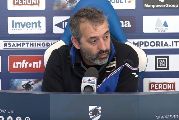 La conferenza stampa di Giampaolo alla vigilia di Sampdoria Milan