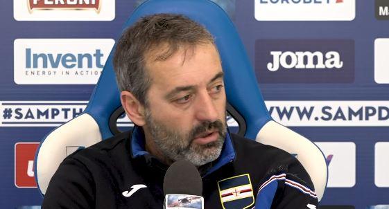 La conferenza stampa di Marco Giampaolo alla vigilia di Spal Sampdoria