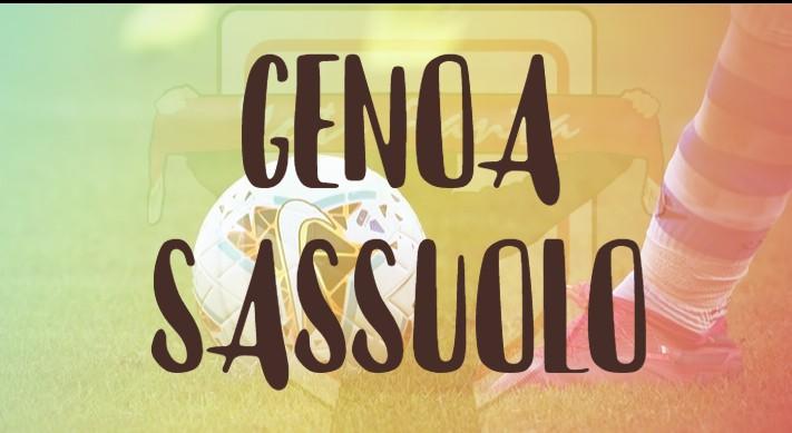 Genoa Sassuolo tabellino fantacalcio e highlights
