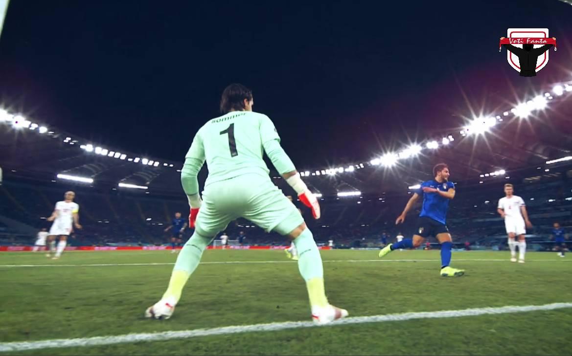 Gazzetta voti fanta Euro 2020, prima giornata, girone A e B, Finlandia Russia, Turchia Galles, Italia Svizzera Assist, bonus e malus per il tuo di fantacalcio.